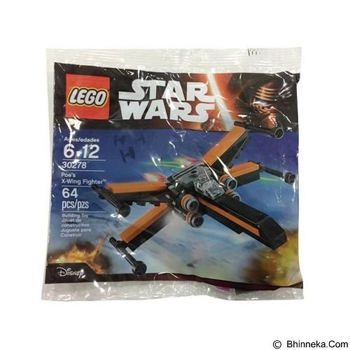 LEGO Star Wars Poe's X-Wing Fighter Mini Blocks [30278] (Merchant) - Building Set Movie
