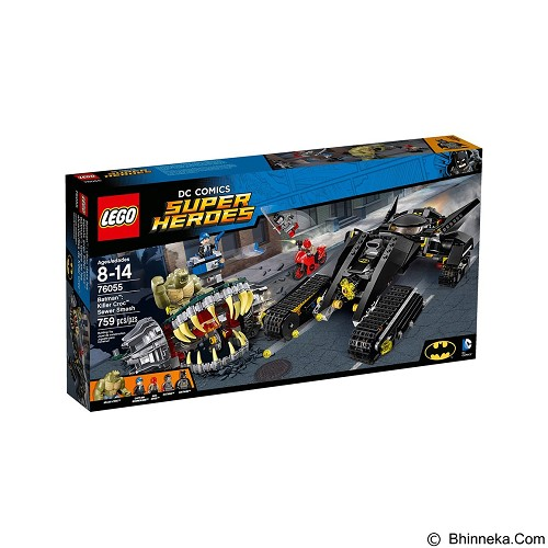 LEGO Super Heroes Batman Killer Crocs Sewer Smash [76055] (Merchant) - Building Set Movie