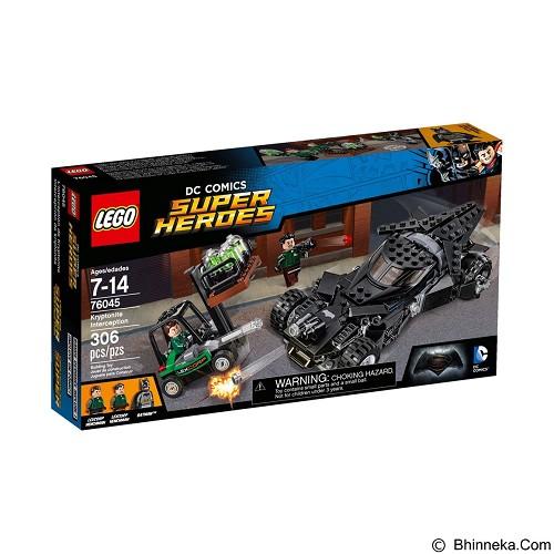 LEGO Super Heroes Kryptonite Interception [76045] - Building Set Movie