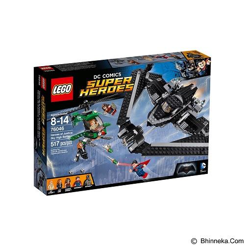 LEGO Super Heroes Of Judtine Sky High Battle [76046] (Merchant) - Building Set Movie