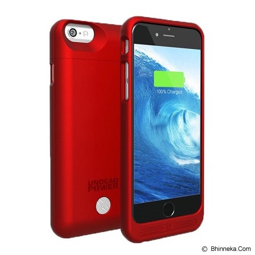 LENMAR Maven Battery Case for iPhone 6 [BC6R] - Red - Portable Charger / Power Bank