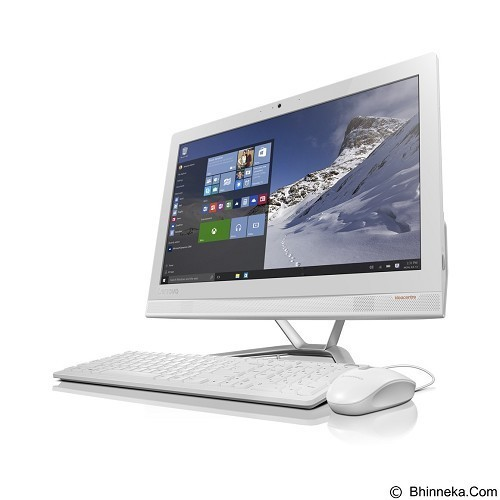LENOVO All-in-One IdeaCentre AIO510-22ISH Non Windows [F0CB00F0ID] - White - Desktop All in One Intel Core I3