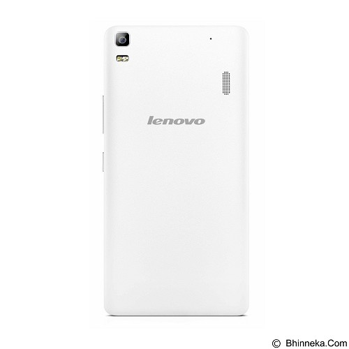 LENOVO A7000 Plus - Pearl White (Merchant) - Smart Phone Android