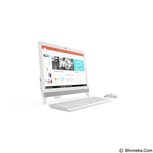 LENOVO AIO 310 [F0CL00-0KiD] - White (Merchant) - Desktop All in One Intel Celeron