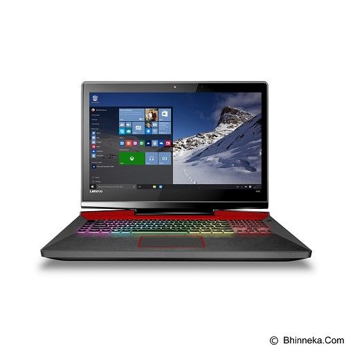 LENOVO IdeaPad Y900-17ISK [80Q1005CID] - Black - Notebook / Laptop Gaming Intel Core I7