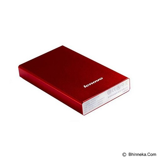 LENOVO Powerbank 4000mAh [LENOVO4000RED] - Red - Portable Charger / Power Bank