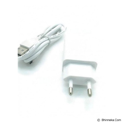 LONG CELL USB Charger 1A - White (Merchant) - Charger Handphone