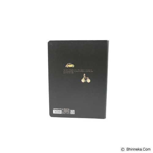 LENWA Binder 20 Rings Paris A5 [5345] - Black MB004 (V) - Buku Catatan / Journal
