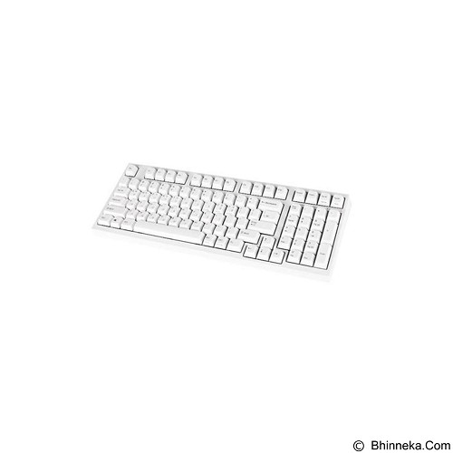 LEOPOLD Keyboard Mechanical [FC980MS/EWP] - White (Merchant) - Gaming Keyboard