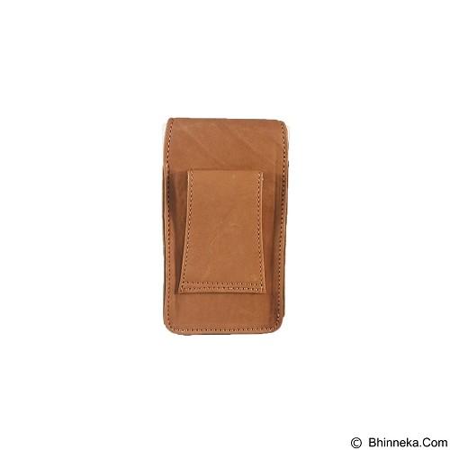 LEVI'S Pouch [FTP SH-35] - Light Brown - Sarung Handphone / Pouch