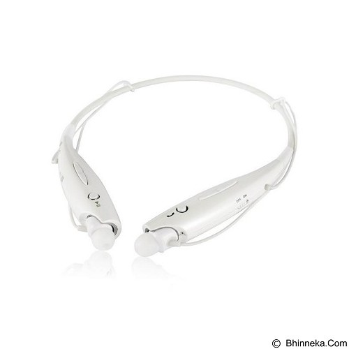 LG Bluetooth Stereo Headset [HBS 730] - White (Merchant) - Headset Bluetooth