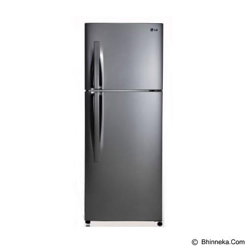 LG Kulkas 2 Pintu [GNB202RLCL]- Silver (Merchant) - Kulkas 2 Pintu
