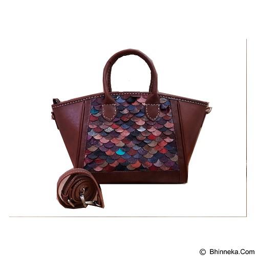 LIBERA_INDOO Tas Kulit Beauty Alena Sisik Tengah (Merchant) - Shoulder Bag Wanita