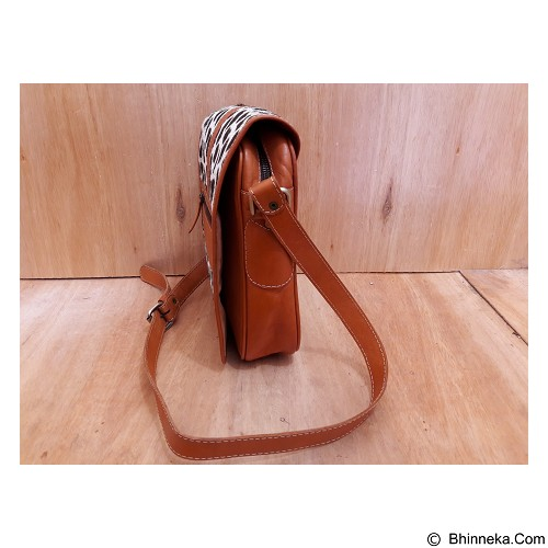 LIBERA_INDOO Tas Rosalinda Medium Lukis Motif Parang Segiempat Nabati (Merchant) - Cross-Body Bag Wanita