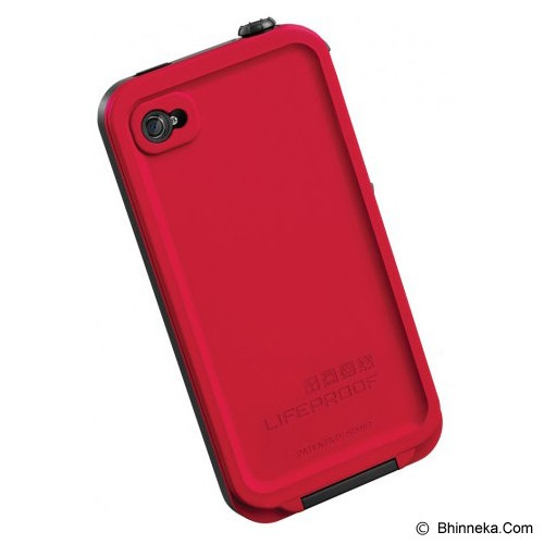 LIFEPROOF Case for Apple iPhone 4S/4 - Red/Black - Casing Handphone / Case