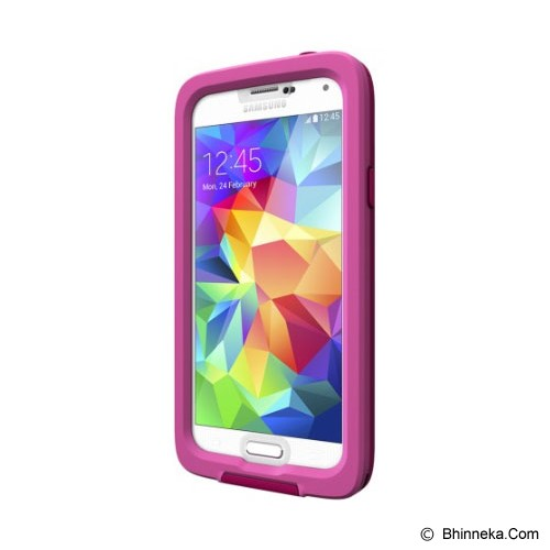 LIFEPROOF Fre Case for Samsung Galaxy S5 EN/FR/ES/PT - Magenta/Clear/Dark Magenta - Casing Handphone / Case