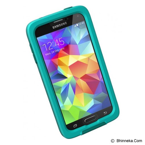 LIFEPROOF Fre Case for Samsung Galaxy S5 EN/FR/ES/PT - Teal/Clear/Dark Teal - Casing Handphone / Case