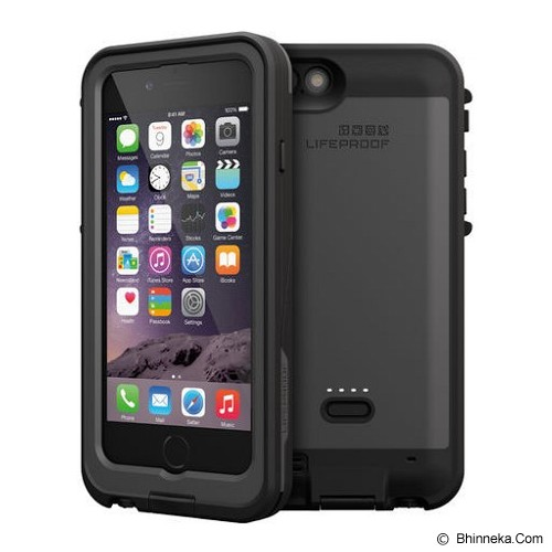 LIFEPROOF Fre Power iPhone 6 - Blacktop - Casing Handphone / Case