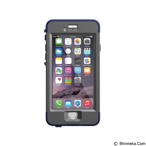 LIFEPROOF Nuud for Apple iPhone 6 - Night Dive Blue - Casing Handphone / Case