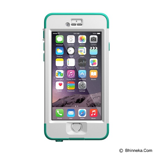 LIFEPROOF Nuud for Apple iPhone 6 - Riptide Teal - Casing Handphone / Case