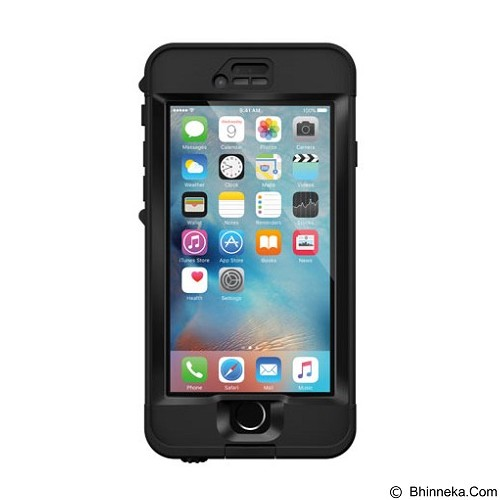 LIFEPROOF Nuud for Apple iPhone 6s - Black - Casing Handphone / Case