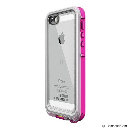 LIFEPROOF Nuud for iPhone 5/5s - Blaze Pink/Clear - Casing Handphone / Case