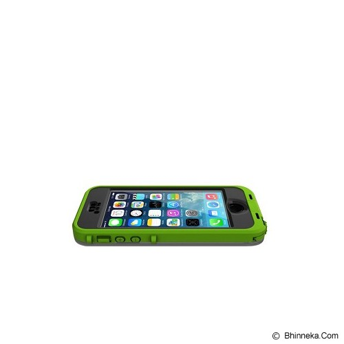 LIFEPROOF Nuud for iPhone 5/5s - Dark Lime/Smoke - Casing Handphone / Case
