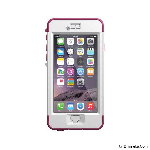 LIFEPROOF Nuud for iPhone 6 - Pink Pursuit - Casing Handphone / Case