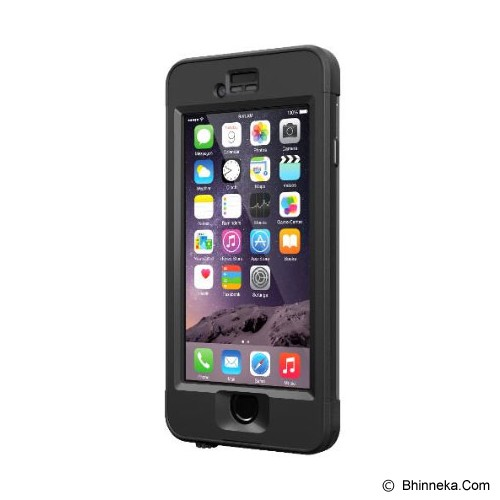 LIFEPROOF Nuud Apple iPhone 6 - Black - Casing Handphone / Case