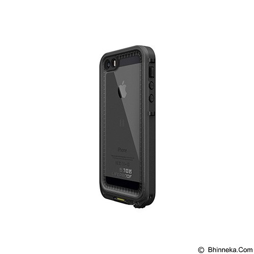 LIFEPROOF iPhone 5s Nuud Case - Black/Smok - Casing Handphone / Case