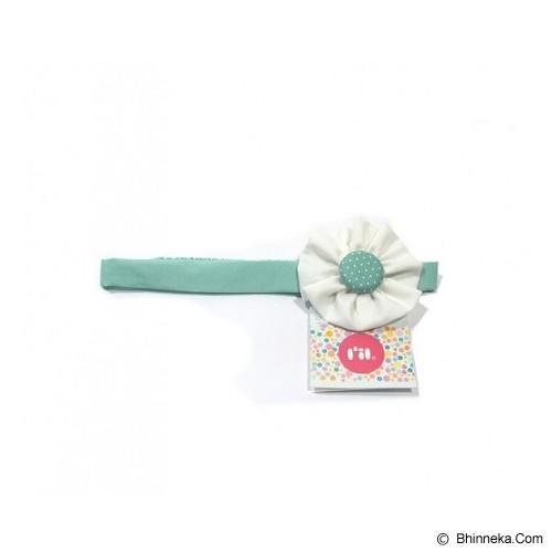 LIL DOT Blossom Bando Chalky Green Dot [LD-BBCGD] - Topi & Aksesoris Bayi dan Anak
