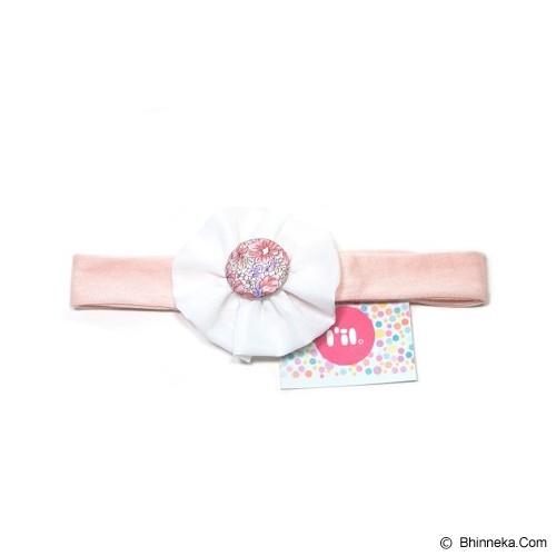 LIL DOT Blossom Bando Peach Lavender Peony [LD - BBPLP] - Topi & Aksesoris Bayi dan Anak