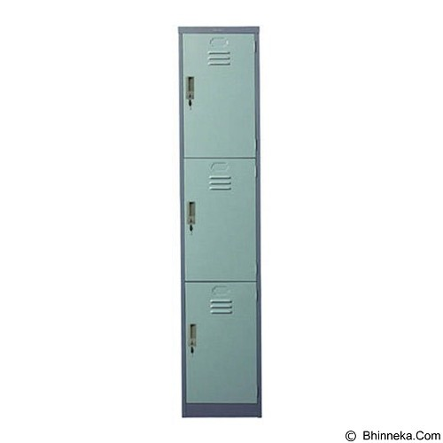 LION Locker 3 Door [L553] - Filing Cabinet / Lemari Arsip