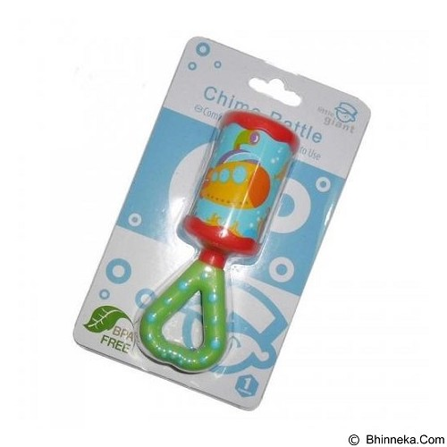 LITTLE GIANT Chime Rattle [LG-1394] - Red (Merchant) - Rattle