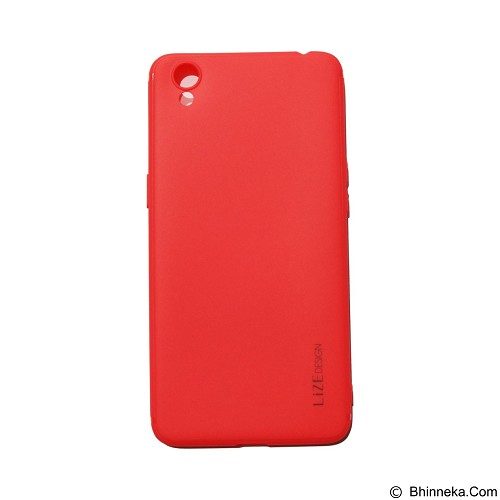 LIZE Silicon Softcase for Oppo A37 Neo 9 - Red (Merchant) - Casing Handphone / Case