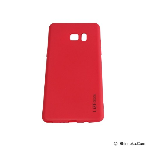 LIZE Silicon Softcase for Samsung Galaxy Note 7 - Red (Merchant) - Casing Handphone / Case