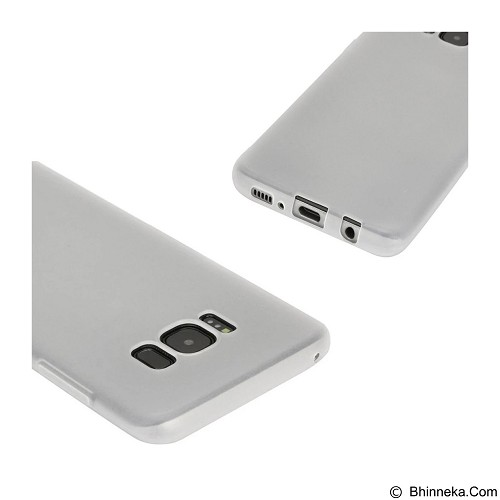 LIZE Silicon Softcase for Samsung Galaxy S8 - White (Merchant) - Casing Handphone / Case