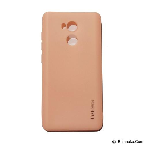 LIZE Silicon Softcase for Xiaomi Redmi 4/Redmi 4 Prime - Pink (Merchant) - Casing Handphone / Case