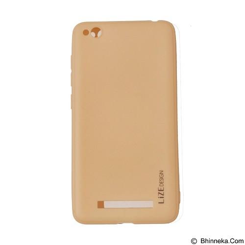 LIZE Silicon Softcase for Xiaomi Redmi 4A - Peach (Merchant) - Casing Handphone / Case