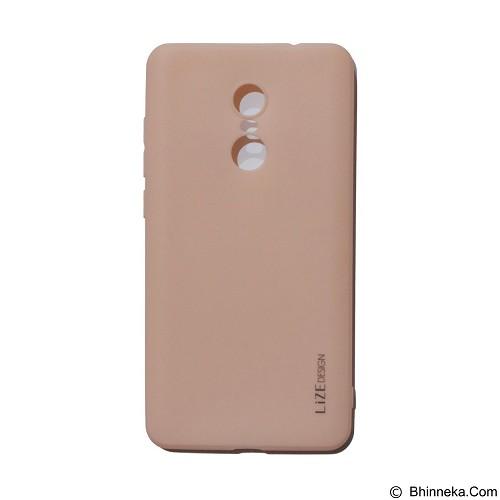 LIZE Silicon Softcase for Xiaomi Redmi Note 4X - Pink (Merchant) - Casing Handphone / Case