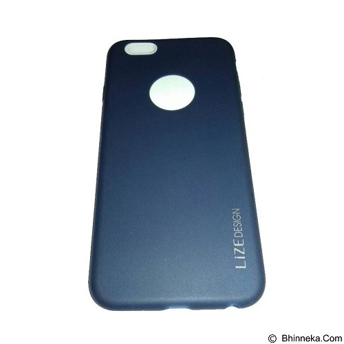 LIZE Softcase Apple iPhone 5G/5s/5SE - Dark Blue (Merchant) - Casing Handphone / Case