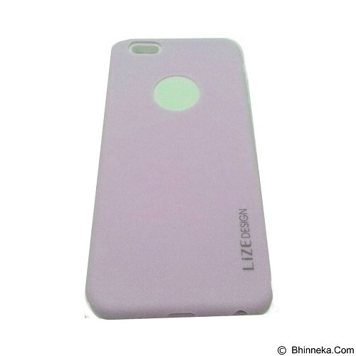LIZE Softcase Apple iPhone 5G/5s/5SE - Purple (Merchant) - Casing Handphone / Case