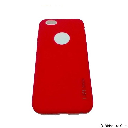 LIZE Softcase Apple iPhone 5G/5s/5SE - Red (Merchant) - Casing Handphone / Case