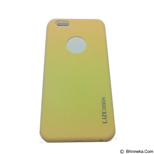 LIZE Softcase Apple iPhone 5G/5s/5SE - Yellow (Merchant) - Casing Handphone / Case