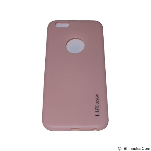 LIZE Softcase Apple iPhone 6/6s - Pink (Merchant) - Casing Handphone / Case