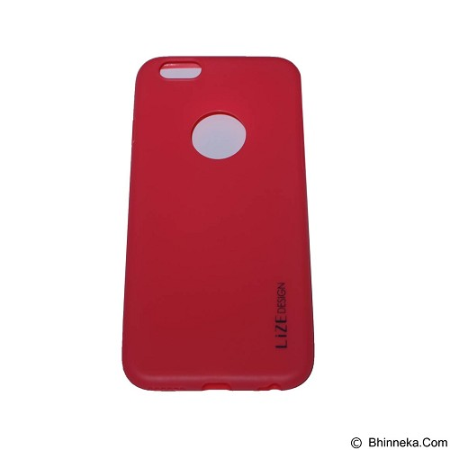 LIZE Softcase Apple iPhone 6/6s - Red (Merchant) - Casing Handphone / Case