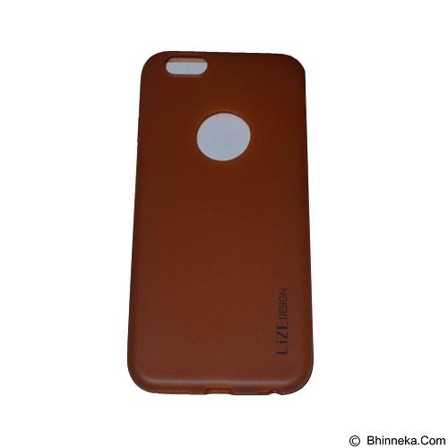 LIZE Softcase Apple iPhone 6 Plus/6s Plus - Brown (Merchant) - Casing Handphone / Case