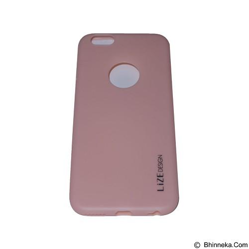 LIZE Softcase Apple iPhone 6 Plus/6s Plus - Pink (Merchant) - Casing Handphone / Case