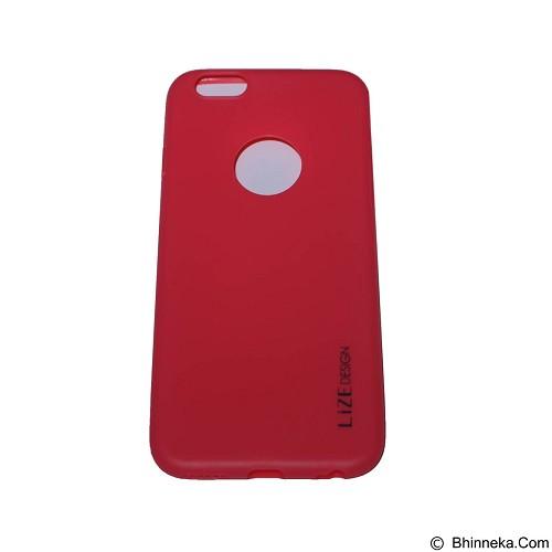 LIZE Softcase Apple iPhone 6 Plus/6s Plus - Red (Merchant) - Casing Handphone / Case
