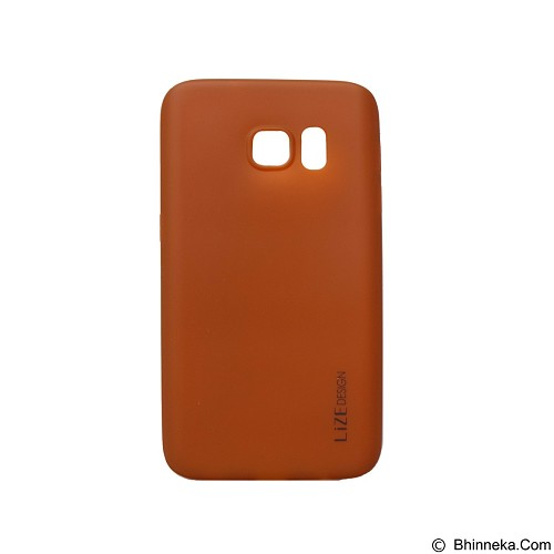 LIZE Softcase Samsung Galaxy S7 - Brown (Merchant) - Casing Handphone / Case